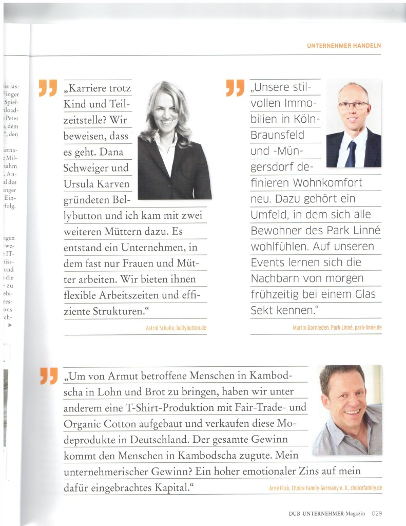 Arne Flick Interview Choice Family Germany